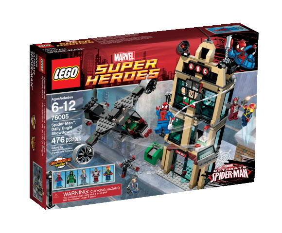 LEGO ® Spider-Man Daily Bugle Showdown 76005