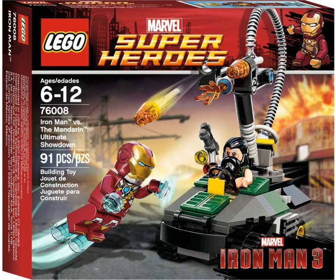 LEGO ® Iron Man vs The Mandarin Ultimate Showdown 76008