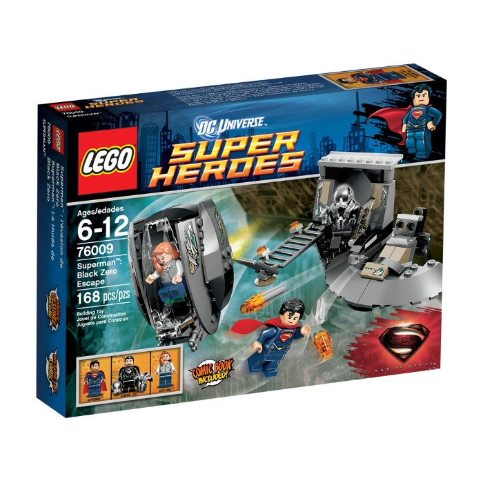 Superman Black Zero Escape 76009