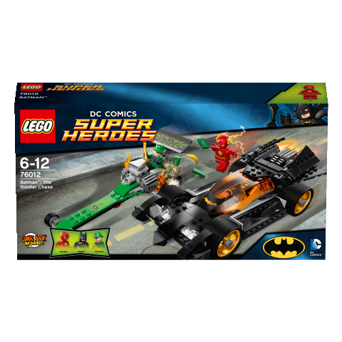 Super Heroes 76012 Batman The Riddler Chase