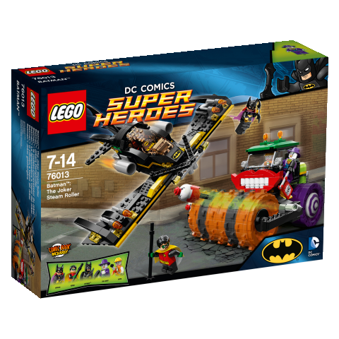 LEGO® Super Heroes 76013 Batman The Joker Steam Roller