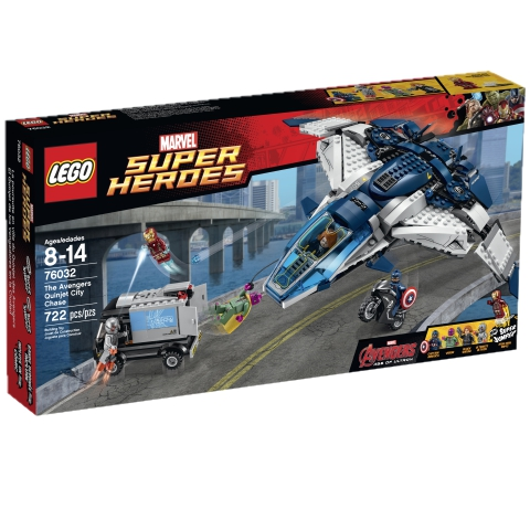 Super Heroes 76032 The Avengers Quinjet City Chase