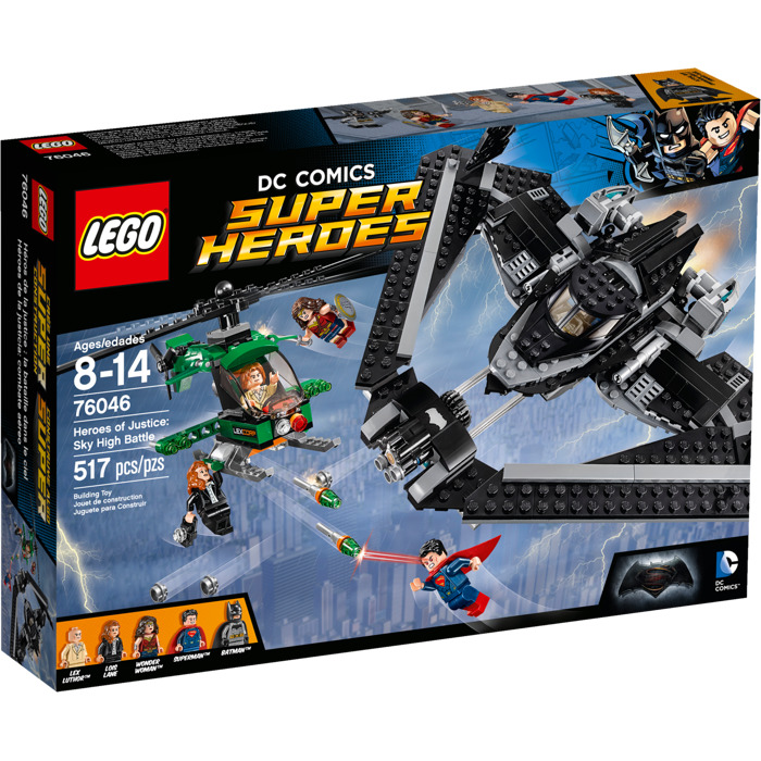 LEGO Super Heroes 76046 Heroes of Justice Sky High Battle
