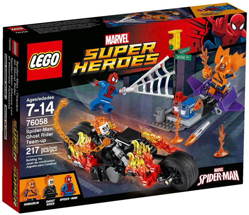 LEGO Super Heroes 76058 SpiderMan Ghost Rider Team up