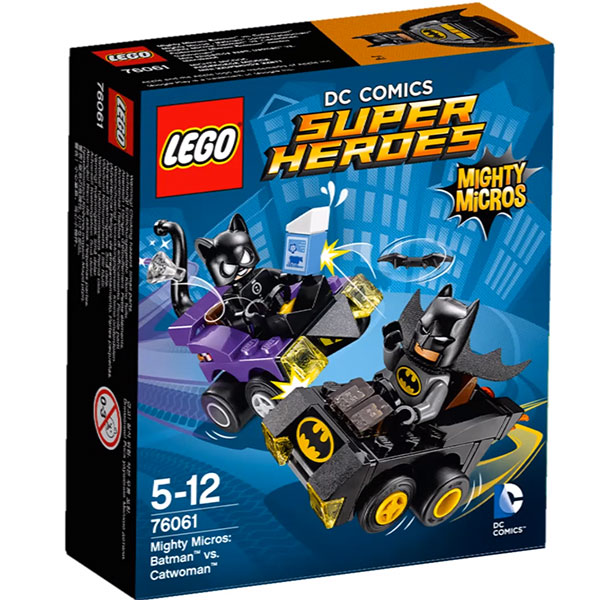 LEGO Super Heroes 76061 Mighty Micros Batman vs Catwoman