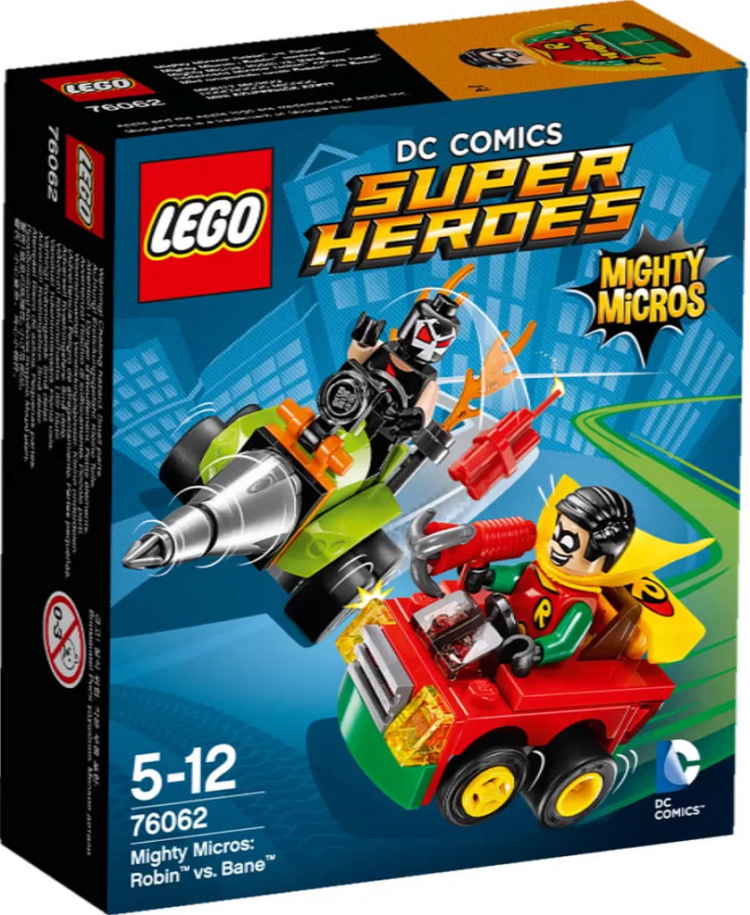 Super Heroes 76062 Mighty Micros Robin vs Bane