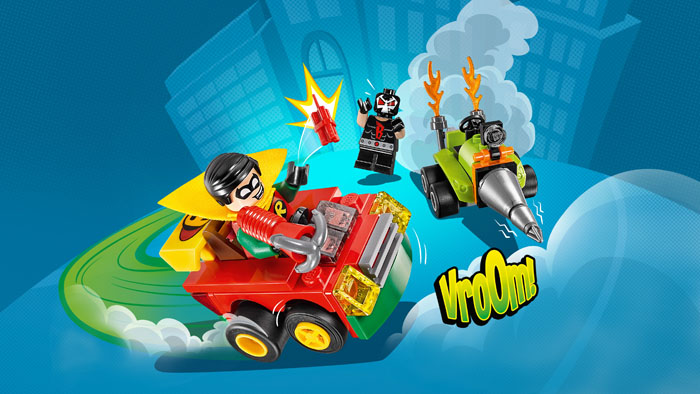 LEGO Super Heroes 76062 Mighty Micros Robin vs Bane