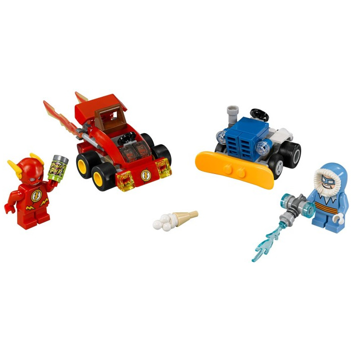 LEGO Super Heroes 76063 The Flash vs Captain Cold