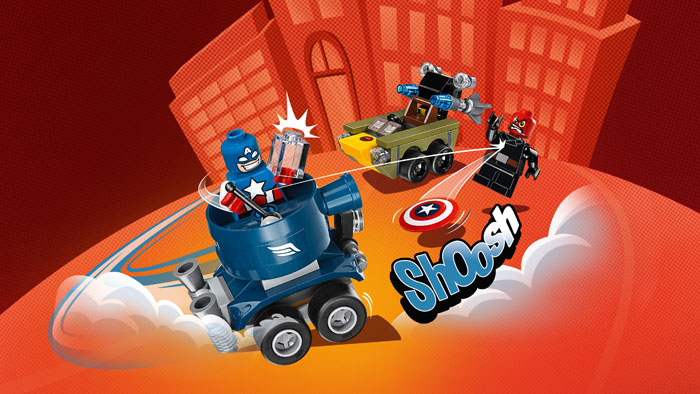 LEGO Super Heroes 76065 Mighty Micros Captain Vs Red Skull