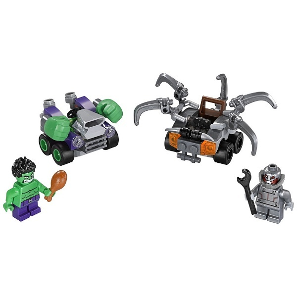 LEGO Super Heroes 76066 Mighty Micros Hulk vs Ultron