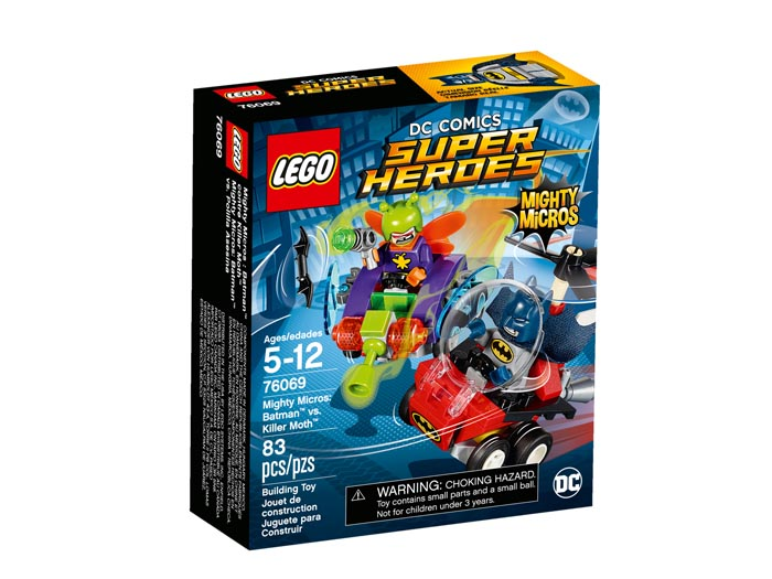 LEGO 76069 Super Heroes Mighty Micros Batman vs Killer Moth