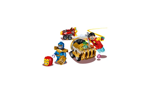 LEGO 76072 Super Heroes Mighty Micros Iron Man vs Thanos