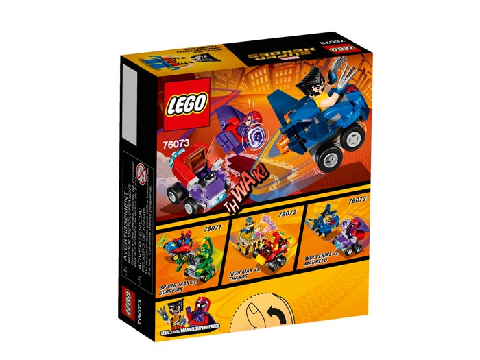 LEGO 76073 Super Heroes Mighty Micros Wolverine vs Magneto