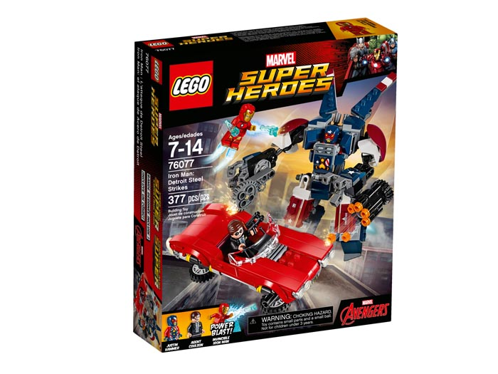 LEGO 76077 Super Heroes Iron Man Detroit Steel Strikes