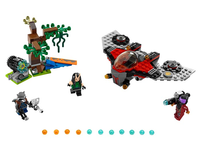 LEGO 76079 Super Heroes Guardians of the Galaxy Ravager Attack