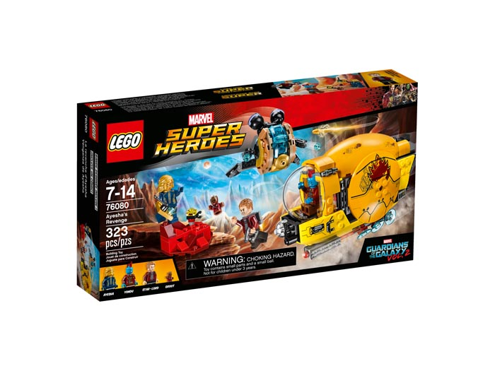 LEGO 76080 Super Heroes Guardians of the Galaxy Ayeshas Revenge