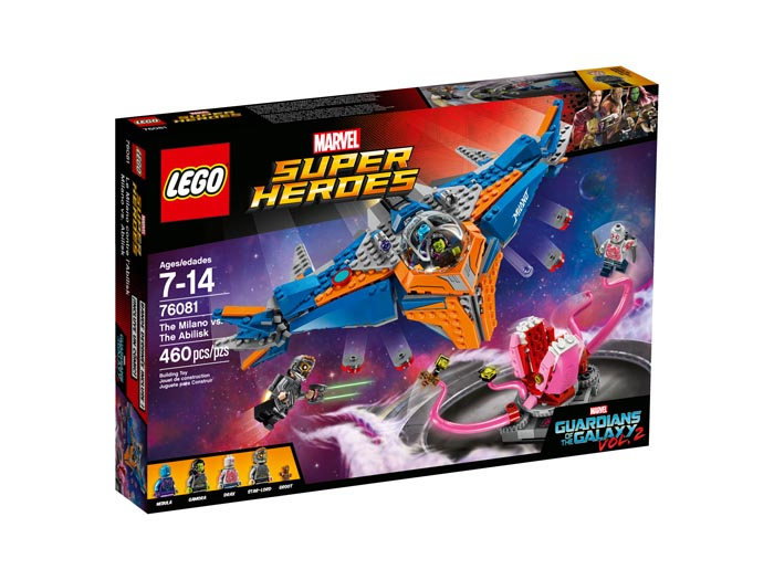 LEGO 76081 Guardians of the Galaxy The Milano vs The Abilisk