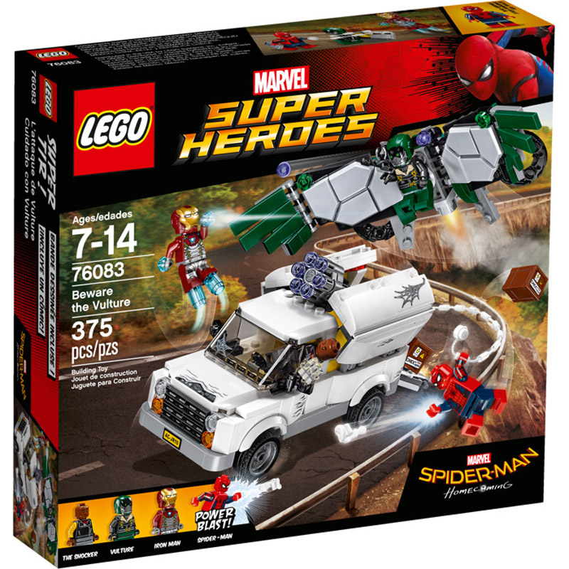 LEGO 76083 Spiderman Beware the Vulture