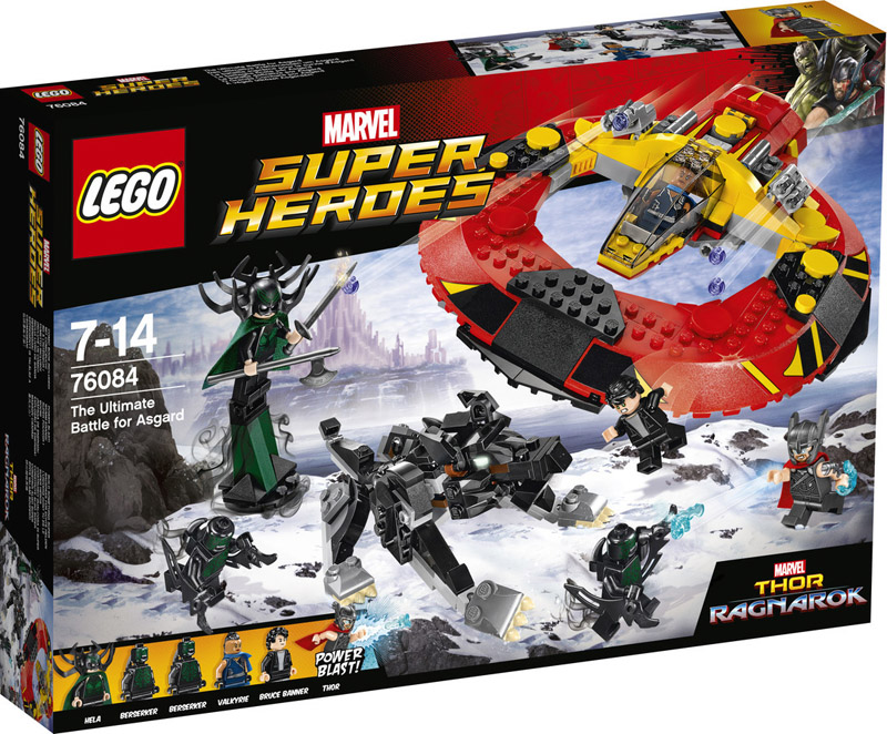 LEGO 76084 Thor The Ultimate Battle for Asgard