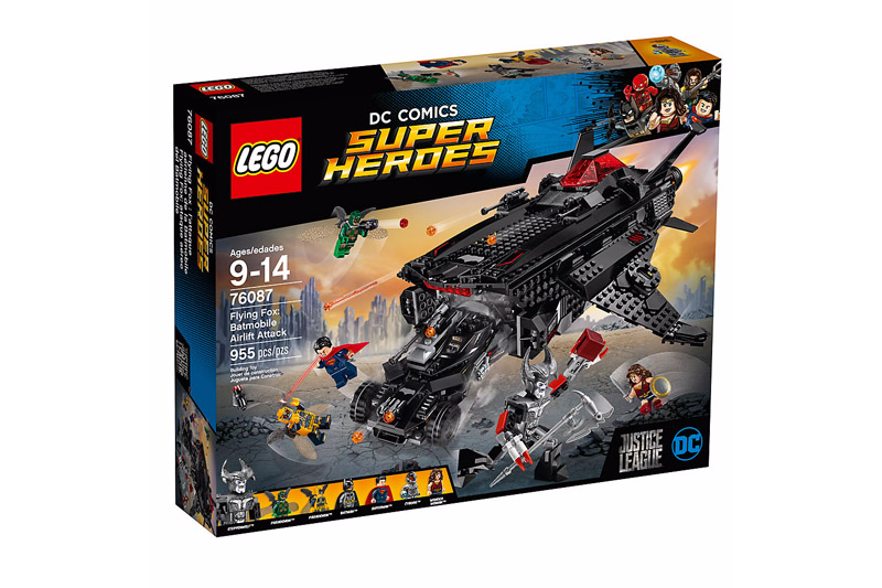 LEGO 76087 Super Heroes Flying Fox Batmobile Airlift Attack