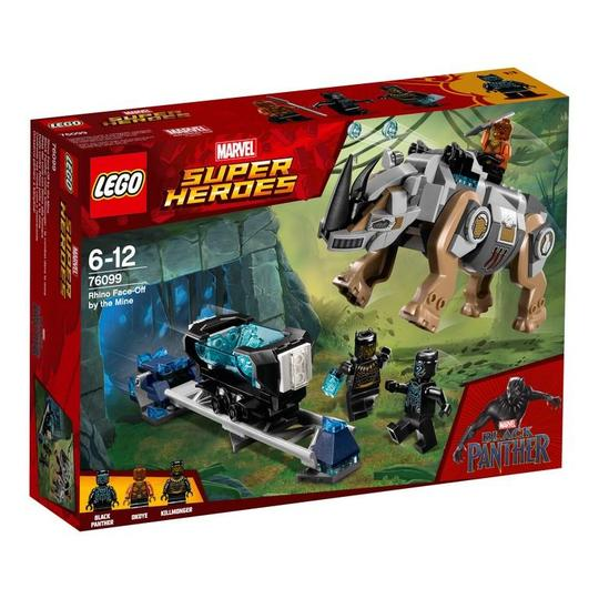 Super Heroes 76099 Rhino Face-Off by the Mine - Click Image to Close