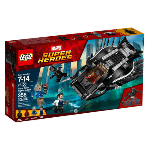Super Heroes 76100 Royal Talon Fighter Attack - Click Image to Close