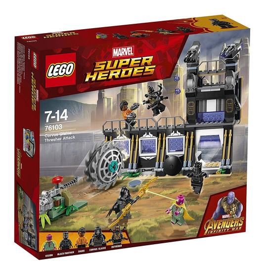 Super Heroes 76103 Corvus Glaive Thresher Attack