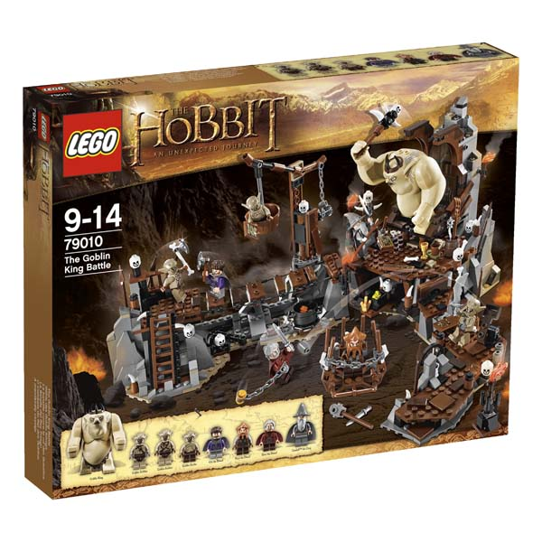 LEGO The Hobbit The Goblin King Battle 79010