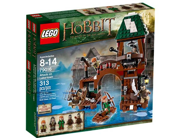 LEGO The Hobbit 79016 Attack on Lake town