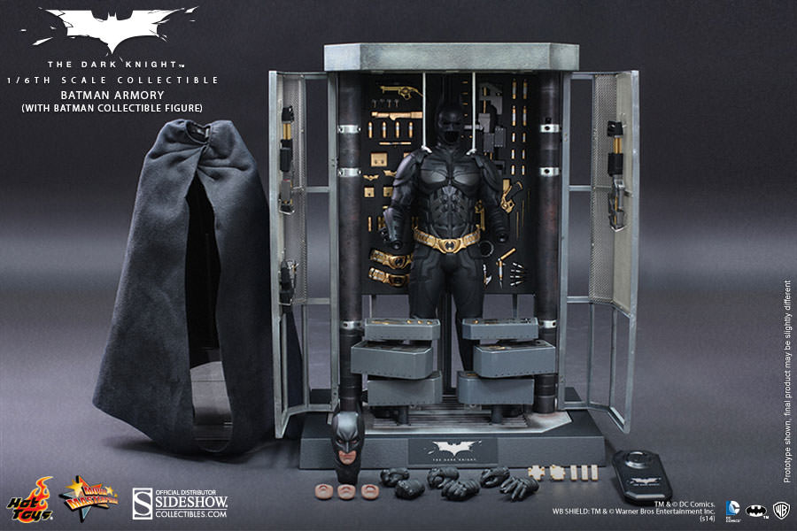 Batman Armory with Batman Sixth Scale Figure Hot Toys