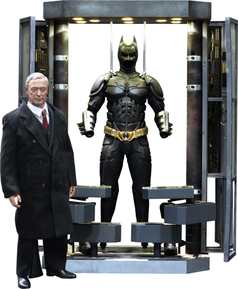Batman Armory with Alfred Pennyworth Figure by Hot Toys