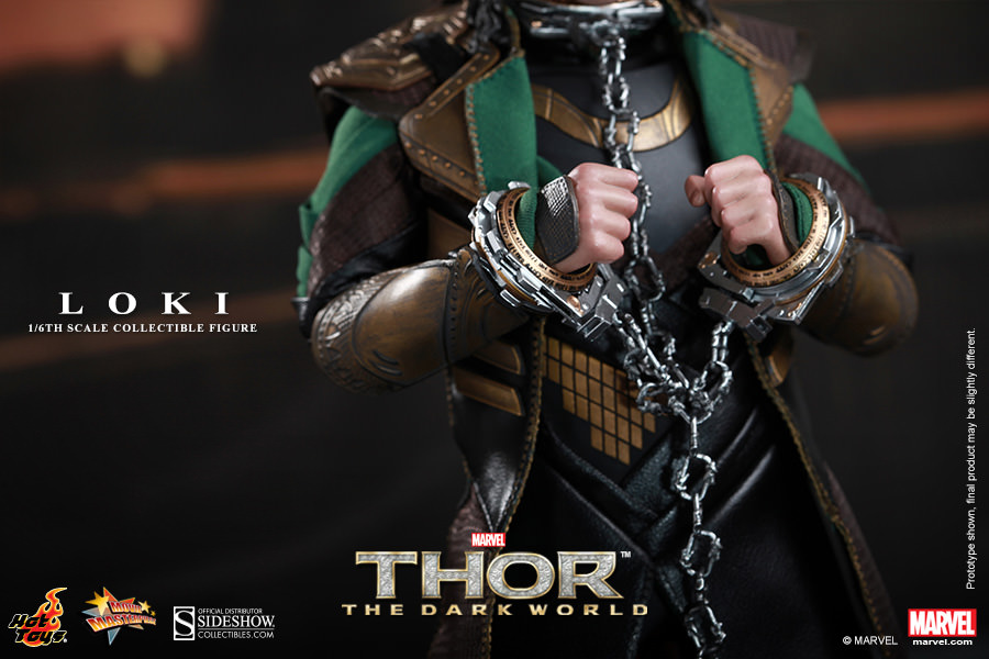 Loki The Dark World Figure by Hot Toys