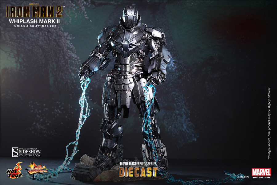 Iron Man 2 Whiplash Sixth Scale Figure by Hot Toys
