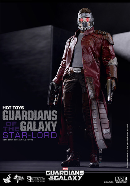Guardians of the Galaxy Star Lord Sixth Scale Figure by Hot Toys