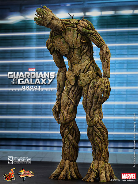 Guardians of the Galaxy Groot Sixth Scale Figure by Hot Toys