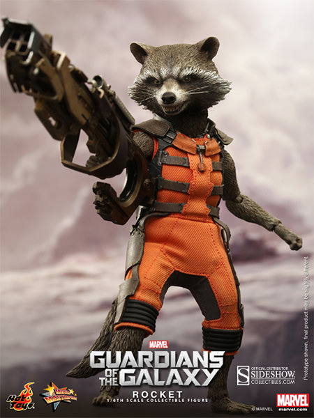 Guardians of the Galaxy Rocket Sixth Scale Figure by Hot Toys