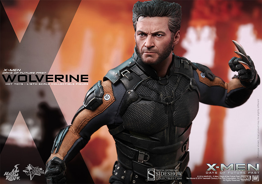 Wolverine X-men Days of Future Past by Hot Toys