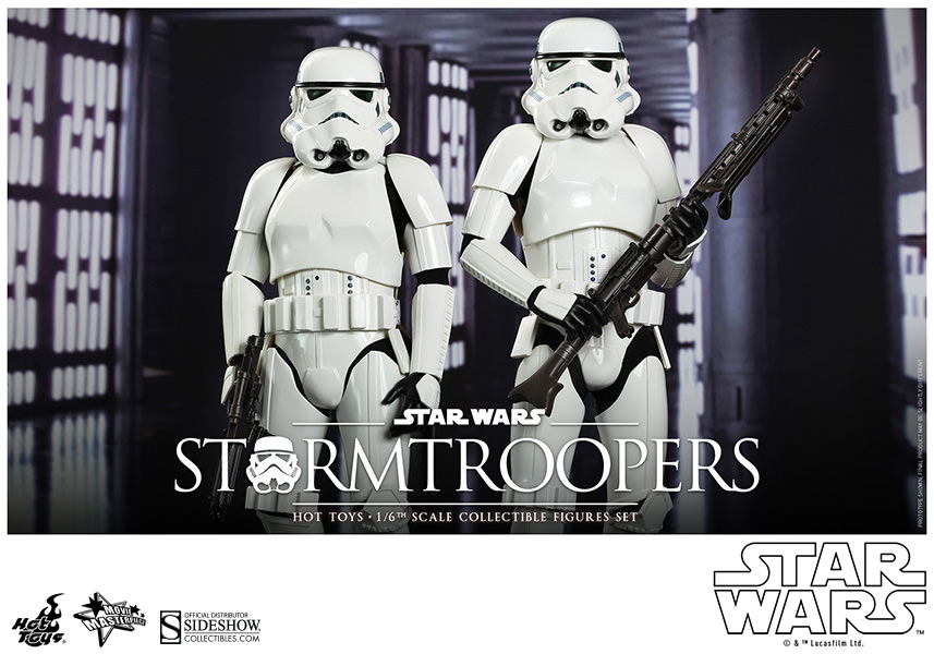 Stormtroopers Sixth Scale Figure Set by Hot Toys