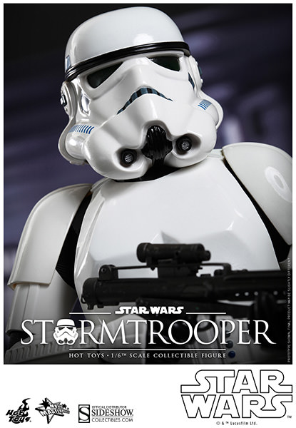Stormtrooper Sixth Scale Figure by Hot Toys