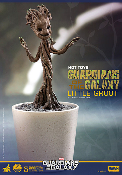 Little Groot Quarter Scale Figure by Hot Toys