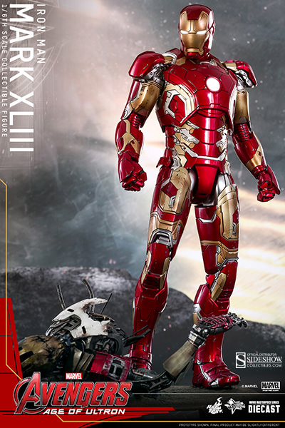 Age of Ultron Iron Man Mark XLIII 43 Sixth Scale Figure Hot Toys