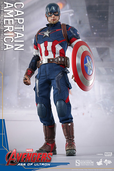 Age of Ultron Captain America Sixth Scale Figure by Hot Toys