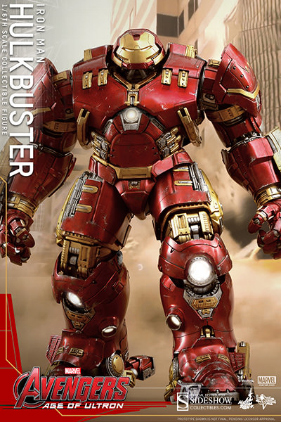 Hulkbuster Iron Man Sixth Scale Figure by Hot Toys