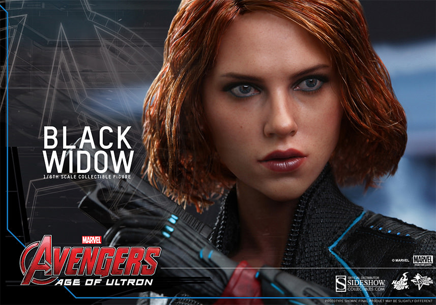 Avengers Age of Ultron Black Widow Sixth Scale Figure Hot Toys