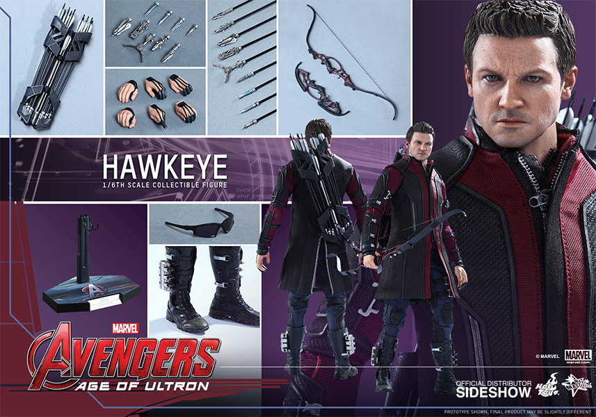 Avengers 2 Hawkeye Sixth Scale Figure by Hot Toys