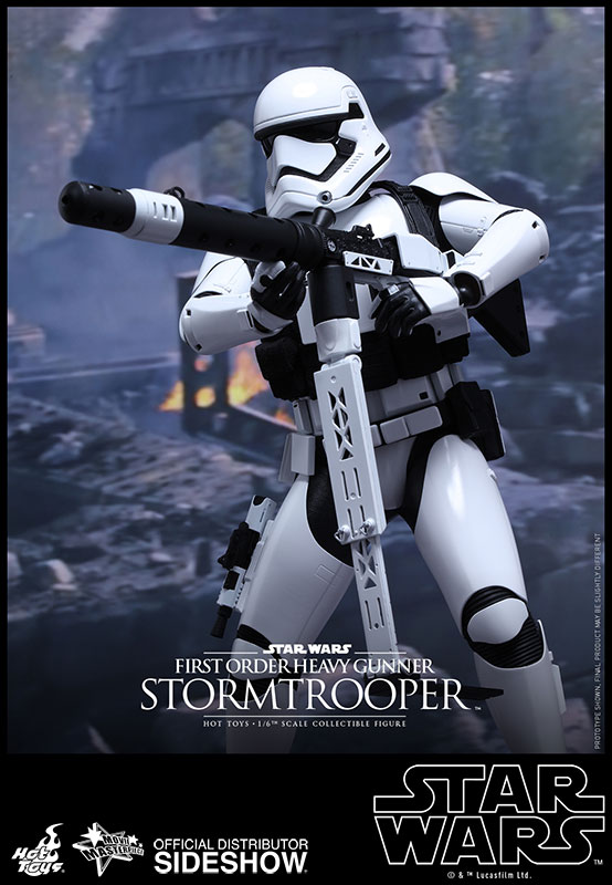 Star Wars First Order Stormtrooper Figure by Hot Toys