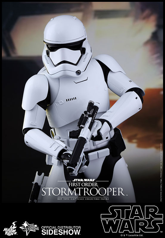 Star Wars First Order Stormtrooper Sixth Scale Figure Hot Toys