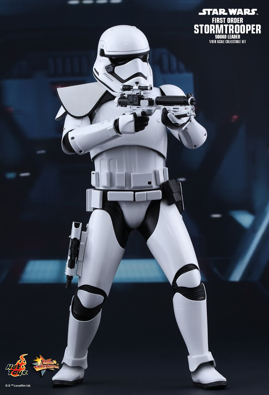 Star Wars First Order Squad Leader Stormtrooper by Hot Toys