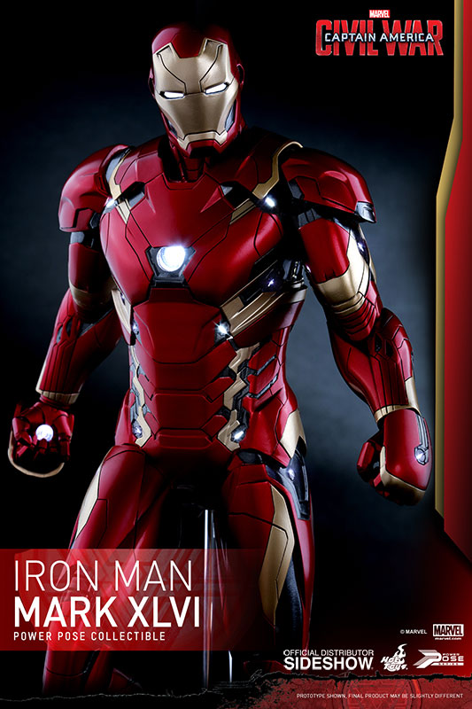 Captain America Civil War Iron Man Sixth Scale Figure Hot Toys