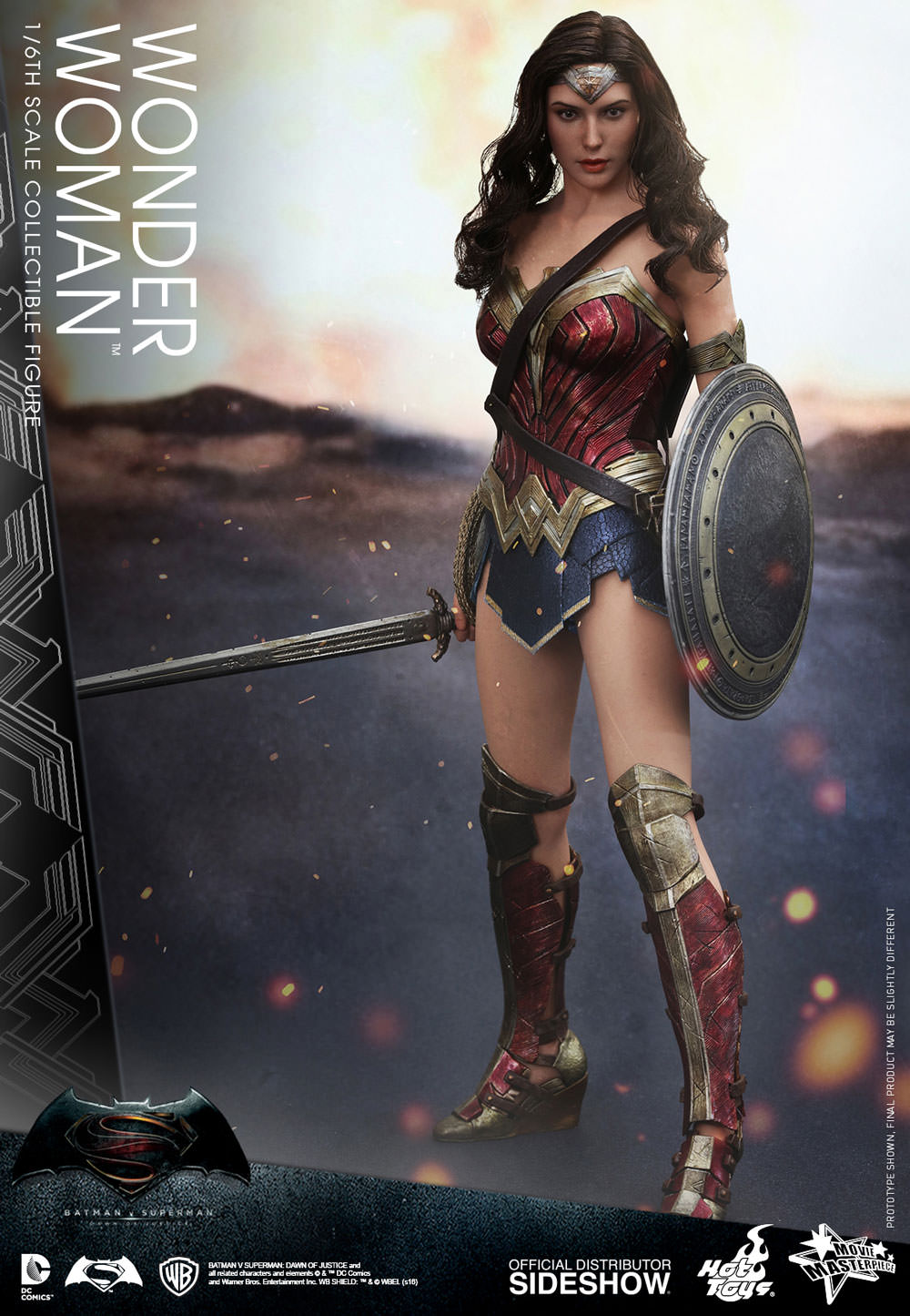 Wonder Woman Sixth Scale Figure by Hot Toys Dawn of Justice